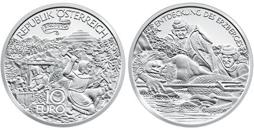 10 евро 2010 года, Монетный двор Австрии
