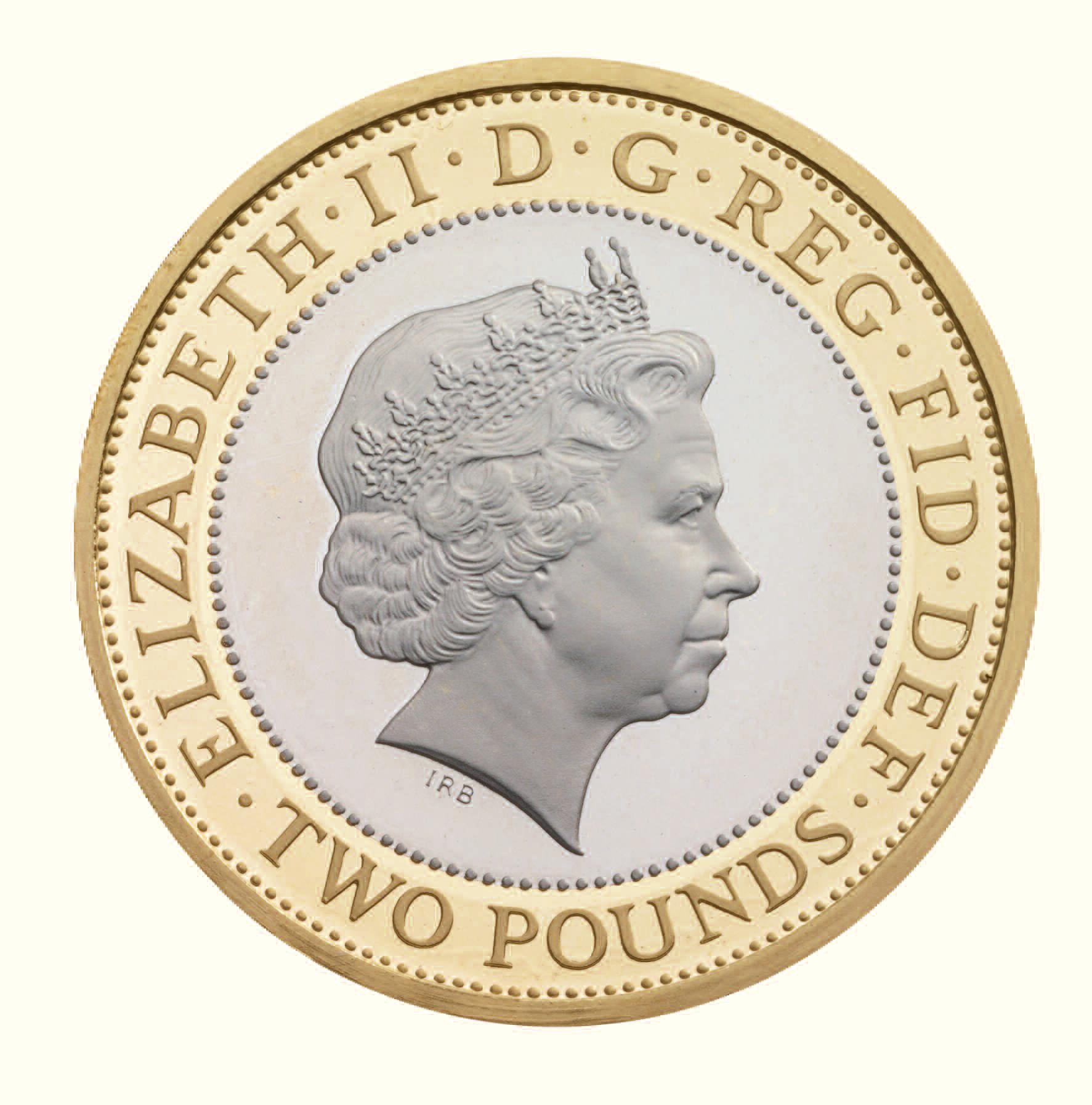 Монета 2 фунта стерлингов монета 50 euro cent 2002 года цена