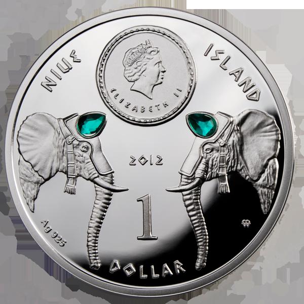 Доллар ниуэ 2 злотых купала