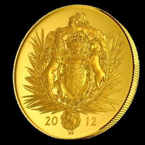 Королевский монетный двор Великобритании, 2012 год