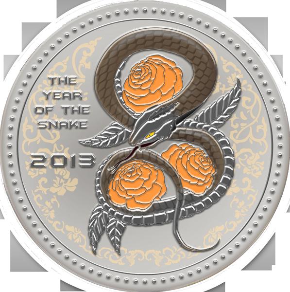 Серебряные монеты год змеи юань купюры