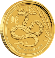 """Золотая 10 кг инвестиционная монета """"Год Змеи"""" 30 000 долларов Австралия"""