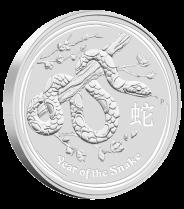 """10 кг серебряная монета """"2013 Год Змеи"""" 300 долларов Австралии"""