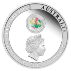 Аверс новогодней монеты