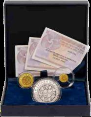Набор 3 монеты Сокровища нумизматики 2012 Испания