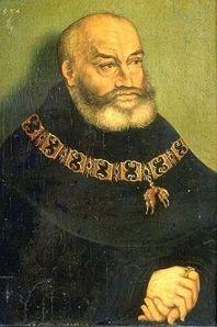 Герцог Саксонский Георг Бородатый  кавалер Ордена Золотого Руна
