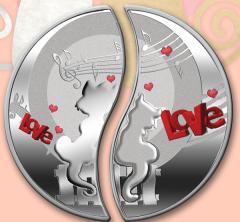 "Монеты ""Влюблённые"""