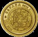 20 евро золотая монета Сокровища нумизматики 2012 Испания