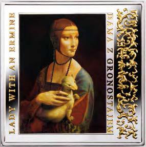 Дама с горностаем. Монетный двор Польши