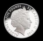 Аверс монеты Олдерни
