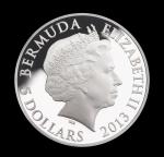 Аверс монеты Бермудских Островов