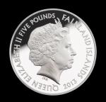 Аверс монеты Фолклендских Островов