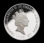 Аверс монеты Острова Святой Елены