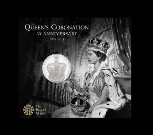 Коронационная монета из недрагметаллов
