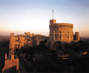 Windsor Castle, from Winchester Tower</p><br /><br /> <p>Photo: John Freeman (please credit)