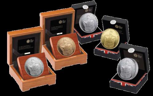Все коронационные монеты Великобритания 2013