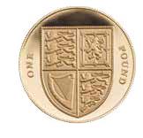 Однофунтовая монета Matthew Dent
