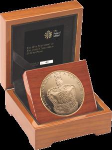 Золотая коронационная монета
