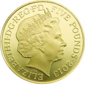 Аверс коронационной монеты