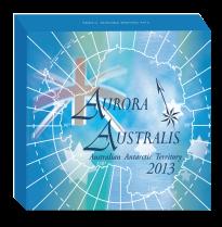 Aurora Australis-Silver-1oz-монета In Shipper