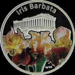 ирис бородатый серебряная монета 1 доллар