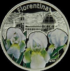 ирис флорентийский серебряная монета 1 доллар