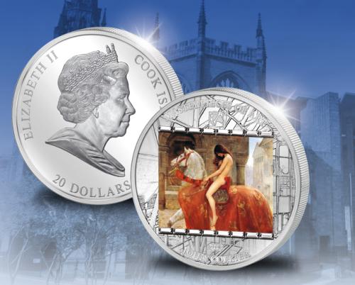 Леди Годива серебряная монета 2013
