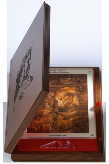 Данте Божественная комедия иллюстрации Густава Доре в футляре