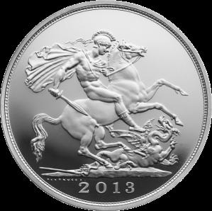 Серебряній соверен 2013