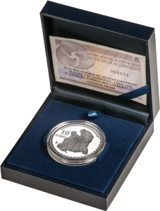 10-Euro-silver-coin-Rafael--in-case