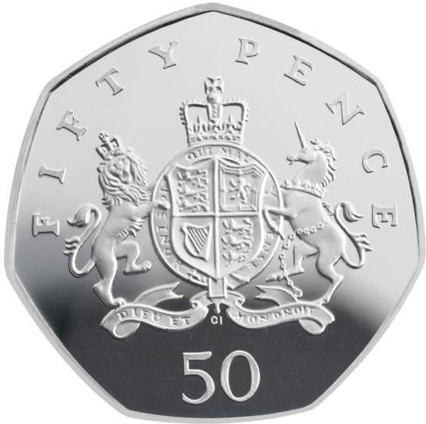 Монеты великобритании 50 пенсов казино со ставками от 1 цента