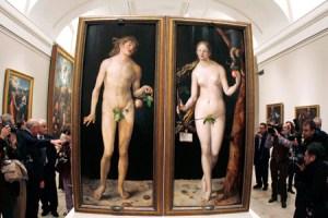 Адам и Ева Альбрехта Дюрера в Музее Прадо (Мадрид)