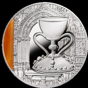 """Серебряная монета """"Священный Грааль"""" 2 доллара"""