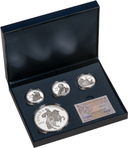 Silver-coins-collection