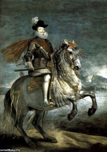 velasquez_Philipp III on horseback