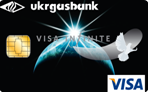 VISA Infinite Ukrgasbank