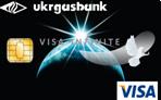 VISA Infinite Ukrgasbank