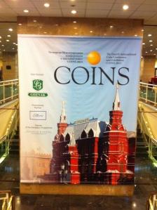 Конференция по памятным монетам КОИНС 2013