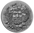 Времена года - Осень серебряная монета Андорры 2012