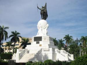 Памятник Бальбоа в Панаме