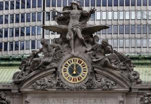 Часы на южном терминале Центрального вокзала в Нью Йорке