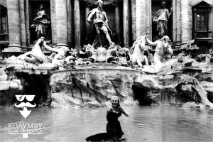 Fountain Trevi in Rome_