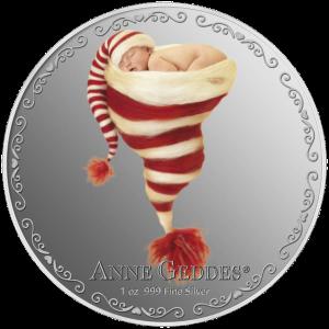 """Серебряная монета """"Моё сердечко"""" 2013 Монетный двор Новой Зеландии"""