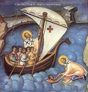 Sv Nikolay spasaet moryakov