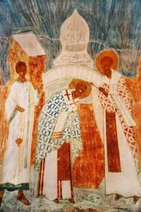 Sv Nikolay u tserkovnih vorot