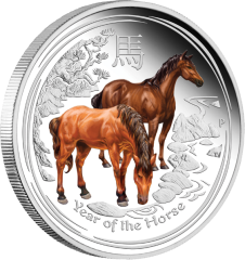 01-2014-Lunar-YearOfTheHorse-Silver-Coloured-Proof-OnEdge