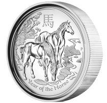 01-2014-YearOfTheHorse-1oz-Silver-HighRelief-Proof-OnEdge