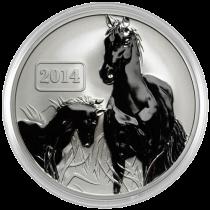 Family-Horse-Silver-Coin-Reverse