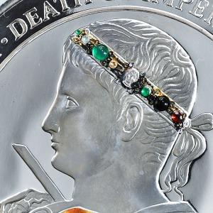 Uvelichenie 2 kilo-AUGUSTUS silver coin