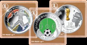 Официальные капсулы монет FIFA 2014